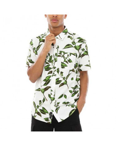 Vans Camicia Rubber Co. Floral Shirt - White