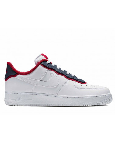 Nike Air Force 1 '07 LV8 1 White/White Obsidian AO2439 100
