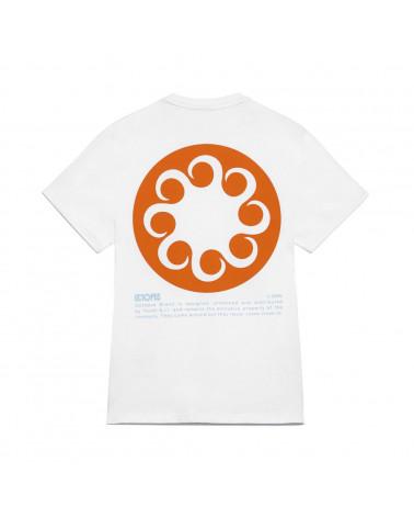 Octopus   T Shirt  Octopus Logo Tee White