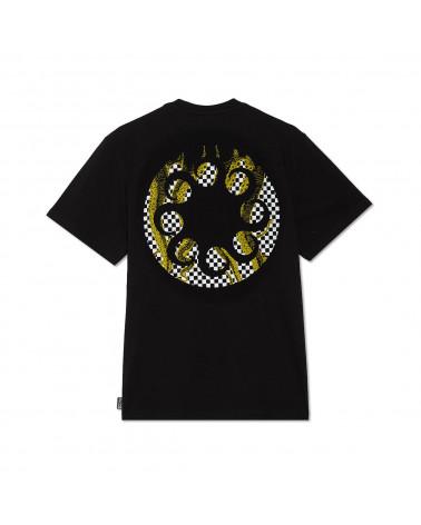 Octopus | T Shirt Octopus Checkered Logo Tee Black