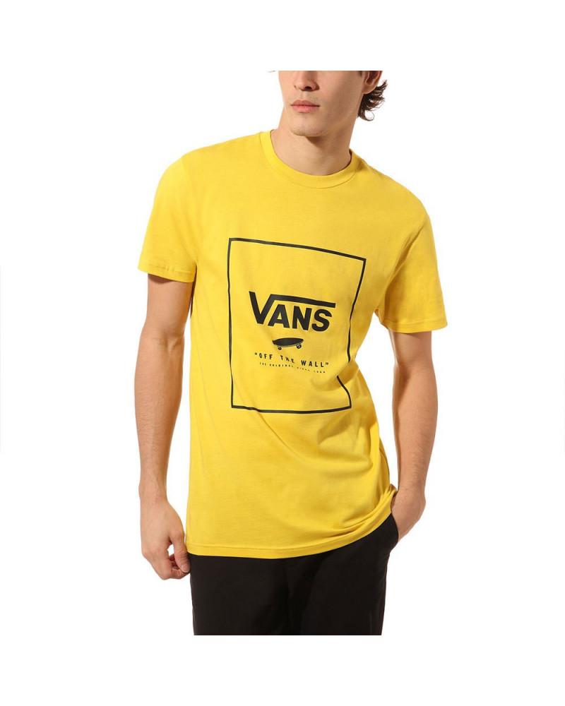 Vans T-Shirt Print Box - Sulphur/Black