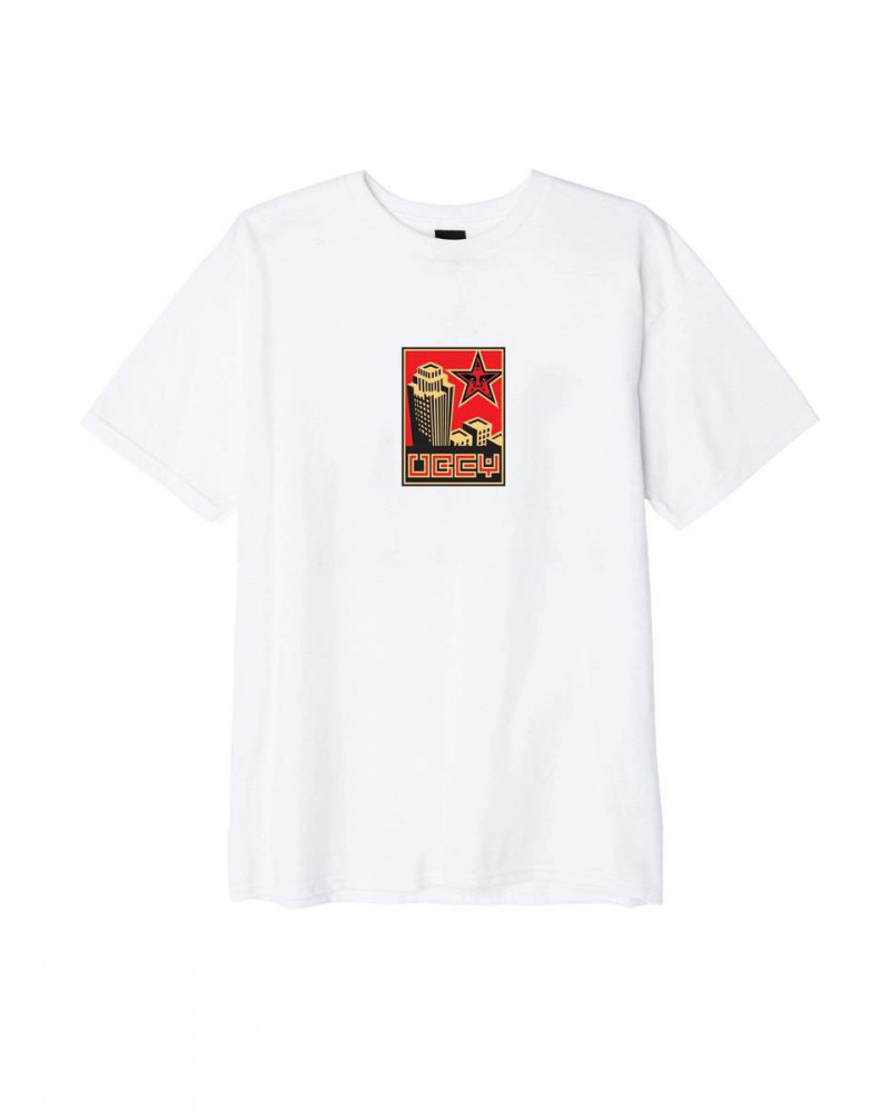 Obey T-Shirt Building 30 Years - White