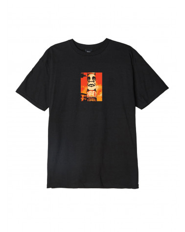 Obey T-Shirt Pole 30 Years - Black