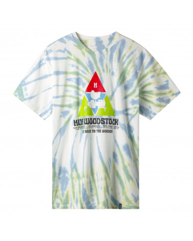 HUF X WOODSTOCK T-Shirt Peaking - Blue