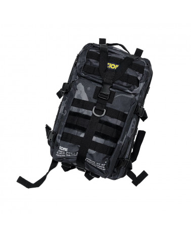Octopus Zaino Camo Utility Backpack - Black