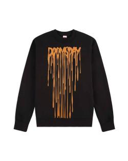 Doomsday Sweatshirt Drip Crewneck - Black