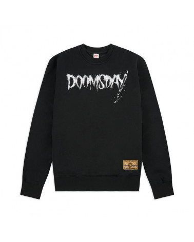 Doomsday Sweatshirt Nose Riders Crewneck - Black