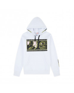 Doomsday Sweatshirt Wrong Turn Hoodie - White