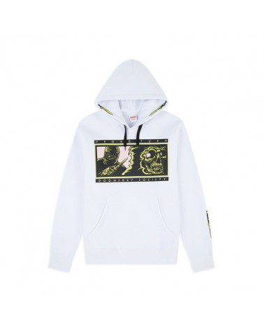 Doomsday Sweatshirt Wrong Turn Hoodie - White