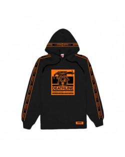 Doomsday Sweatshirt Death Line Hoodie - Black