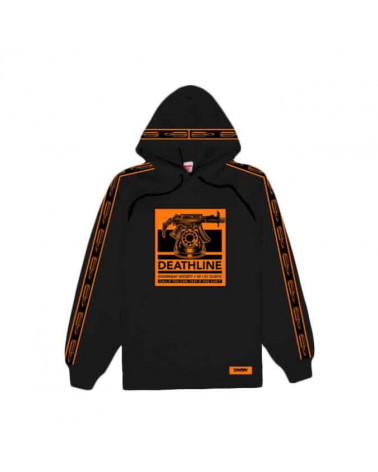 Doomsday Sweatshirt Death Line Hoodie - Black