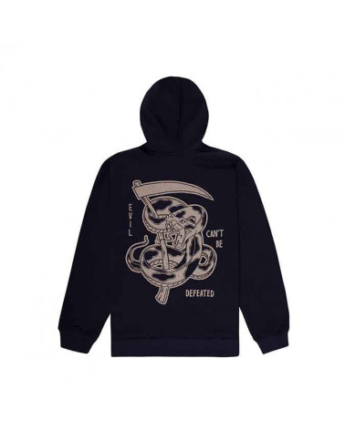 Doomsday Sweatshirt Defated Hoody - Black