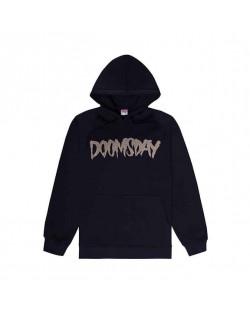 Doomsday Sweatshirt Defated Hoody - Black
