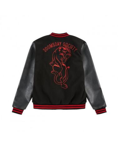 Doomsday Giacca Scars Varsity Jacket - Black