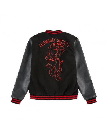 Doomsday Scars Varsity Jacket - Black