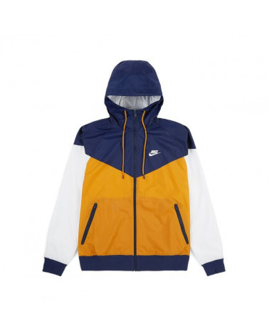 Nike Giacca NSW HD Windrunner - Gold Suede/Midnight Navy Summit White