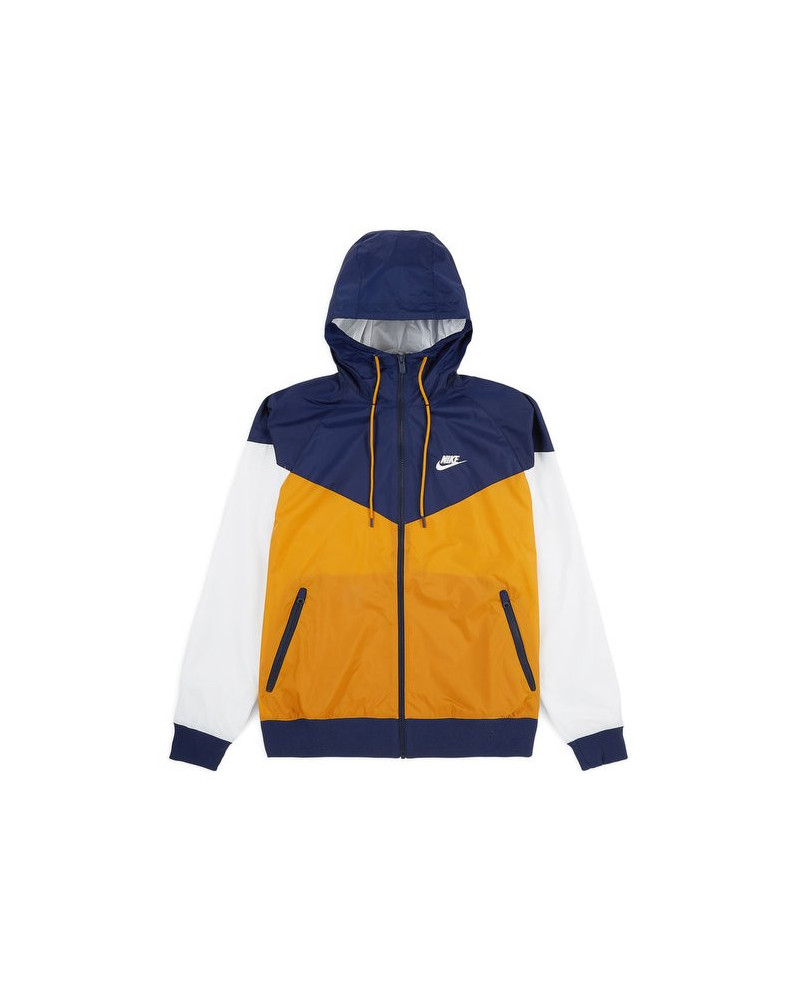 best sneakers a2e3b b7724 Nike Giacca NSW HD Windrunner Gold Suede/Midnight Navy Summit White