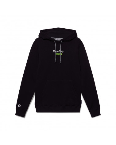 Octopus x Rick e Morty Wathc Hoodie - Black