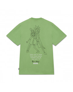 Octopus x Rick e Morty Wathc Tee - Lime