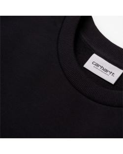 Carhartt Wip Script Embroidery Sweatshirt - Black
