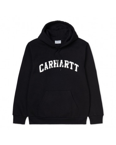 Carhartt WIP Felpa Hooded Princeton Sweat - Black