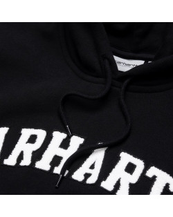 Carhartt WIP Hooded Princeton Sweatshirt - Black