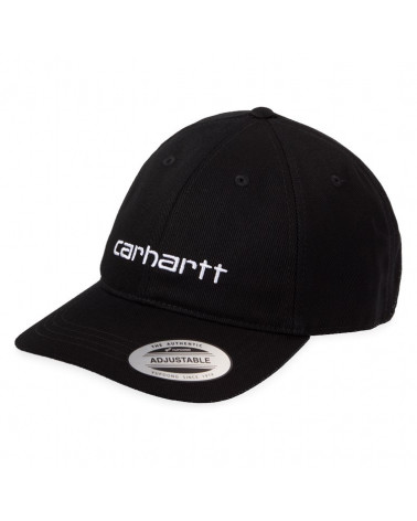 Carhartt Wip Carter Cap - Black/White