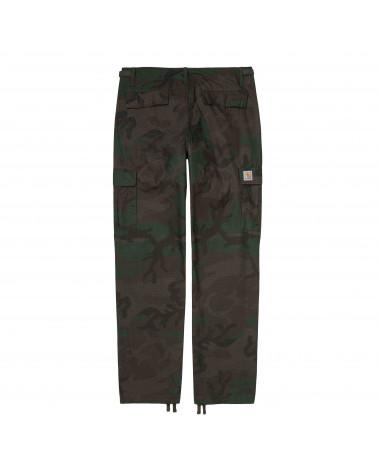 Carhartt Wip Pantalone Aviation Pant - Camo Evergreen