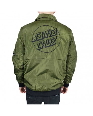 Santa Cruz Squad Jacket - Military Green