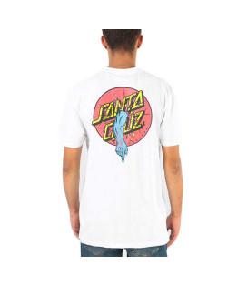 Santa Cruz T-Shirt Rob Dot Tee - White