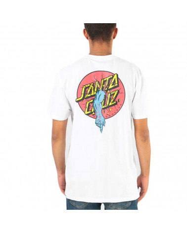 Santa Cruz T-Shirt Rob Dot Tee - White