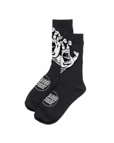 Santa Cruz Screaming Hand Mono Socks - Black