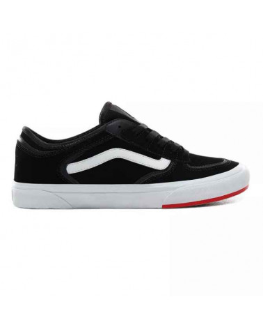 Vans Rowly Classic - (66/99/19) Black/Red