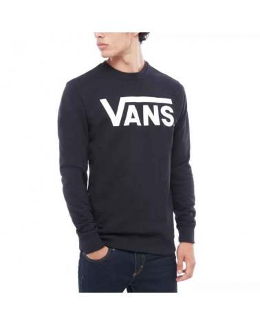 Vans Sweatshirt Classic Crew II - Black/White