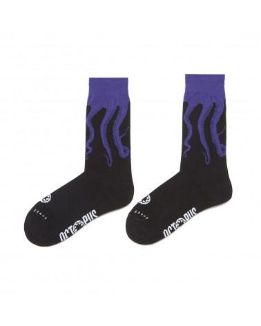 Octopus Calze Socks Original - Black/Purple