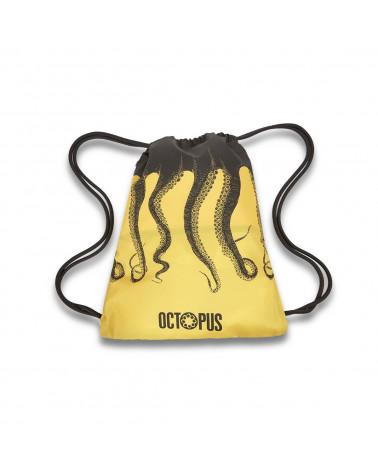 Octopus Sacca Original Backpack - Black/Yellow