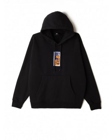 Obey Felpa Obey Slim Icon Hood - Black