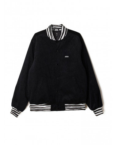 Obey Scotty Varsity Jacket - Black
