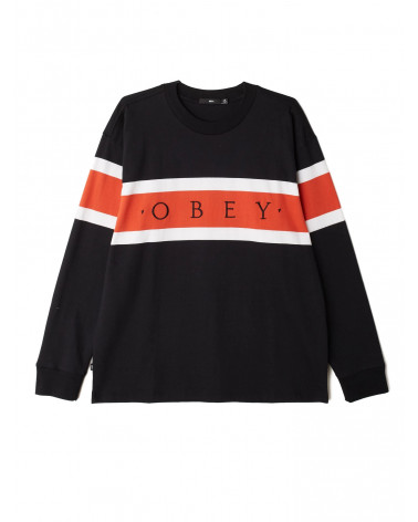 Obey T-Shirt Embrace L/S - Black