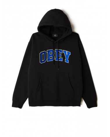 Obey Felpa Obey Sports Hood - Black