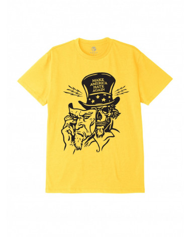 Obey Make America Hate Again T-Shirt - Yellow