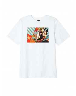 Obey Welcom Visitor T-Shirt - White