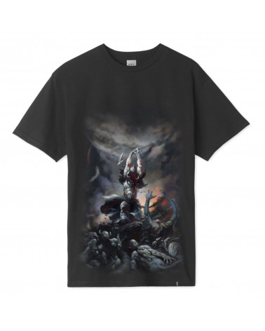 HUF X Frazetta Death Dealer T-Shirt - Black