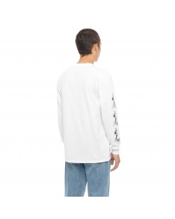 HUF X Frazetta Sacrifice L/S T-Shirt - White
