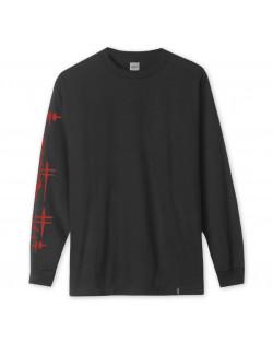 HUF X Frazetta Death Dealer T-Shirt L/S - Black