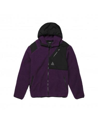HUF Giacca Aurora Tech Jacket - Purple Velvet