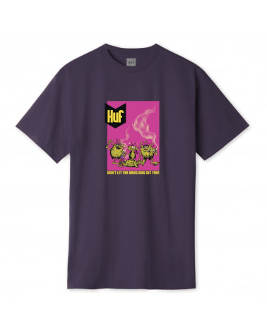 HUF Drug Bugs T-Shirt - Purple Velvet