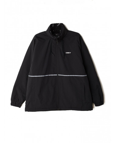 Obey Giacca Prone Jacket - Black