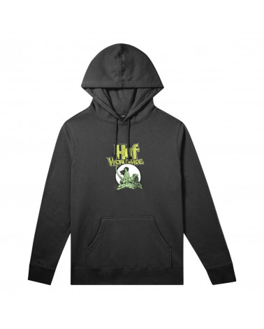 HUF X Frazetta Sweatshirt Hoodie - Black