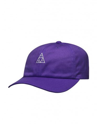 HUF Essentials TT Curved Visor Hat - Purple Velvet